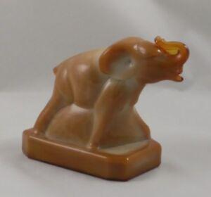CARMEL Boyd Glass ZACK THE ELEPHANT 9-4-85 Tan Brown #38