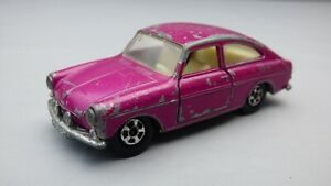 VINTAGE-LESNEY-MATCHBOX-SUPERFAST-serie-N-67-VOLKSWAGEN-1600TL-Viola-Auto-Giocattolo