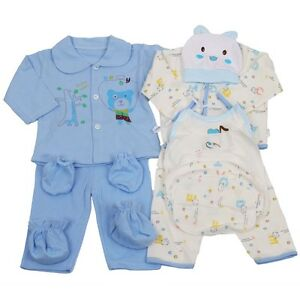 18pcs Newborn Baby Clothes Girls Boys Clothing Set Cute infant ...
