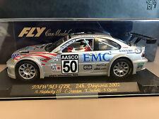 1:43 scale diecast slot car - 2002 BMW M3 GTR - 24hr Daytona winner 2002