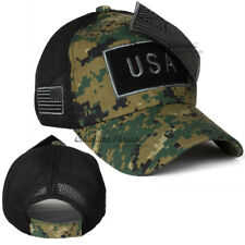 ea182aa8f58 item 1 USA American Flag Trucker Hat Baseball Cap MeshBack Tactical  Military Camouflage -USA American Flag Trucker Hat Baseball Cap MeshBack  Tactical ...