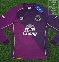 Everton Goalkeeper Shirt - Official Umbro Efc Football Jersey - Mens - All Sizes