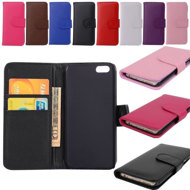 New Flip Card Pocket PU Leather Wallet  Phone Case Cover For LG G3 G4 G2 HTC M8
