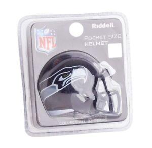 NFL Seattle Seahawks Helmet Riddell Pocket Pro SPEED Style Mini Team ... 14d9b095665