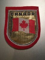 Canada Flag Embroidered Patch Canadian Flag Sew Or Iron Free Shipping