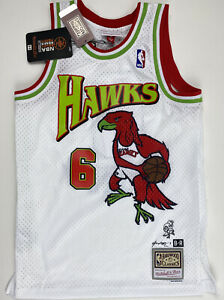 ATLANTA-HAWKS-JERSEY-Mitchell-amp-Ness-Swingman-Small-FUTURE-Hendrix-Zone-6-NBA