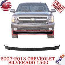 Bumper Lower Valance Extension Textured For 2007 2013 Chevrolet Silverado 1500 Fits 2013 Silverado 1500