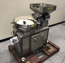 Kal Tech D1177 Vibratory Bowl Feeder 18dia With 17 X 17 X 11deep Feed Hopper
