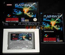 FLASHBACK Super Nintendo Snes Versione PAL Italiana Flash Back ○○○○○ COMPLETO