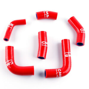 Details About Fit 2005 2006 Honda Cbr 600 Rr Cbr600rr Silicone Coolant Radiator Hose Kit Red