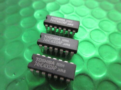 Original Toshiba IC 74HC4002 **5 Per Sale** £0.75ea TC74HC4002AP