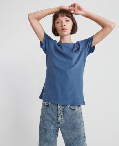 Superdry Womens Vintage Logo Organic Cotton Heritage T-Shirt