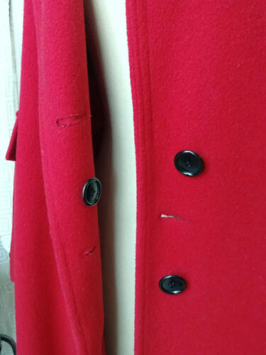 P Mackintosh Taille Femme Long Laine Formel Pure New England Rouge Manteau 8 fTqwd8OOa