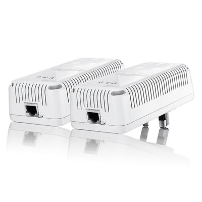 Devolo dLAN 500 AVplus Starter Kit Powerline Adapter Steckdose 500 Mbit/s