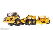 K-Tec 1233 ADT Pull Scraper w/ Volvo A40F Truck - 1/50 - Motorart #15826 - NEW