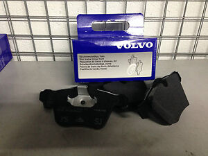 Original-Volvo-Delantera-Pastillas-De-Freno-Nuevo-v70-s60-v60-S80-nueva-forma-316-mm-Disco-Tamano