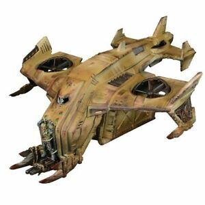 Unboxed-Mantic-Warpath-TAD-65-Plague-Hornet-Dropship-deadzone-40k-gcps