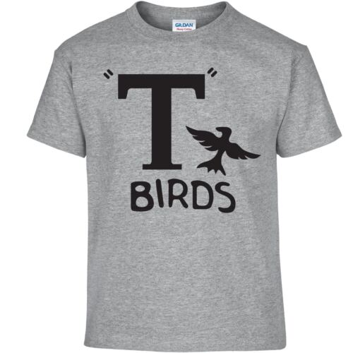 Movie Rydell Retro Top T Birds Inspired Mens Kids Grease John Travolta Tshirt