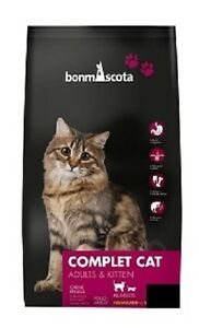 Weizenfreies-Katzenfutter-Trockenfutter-BonmAscota-COMPLET-CAT-3-Kg