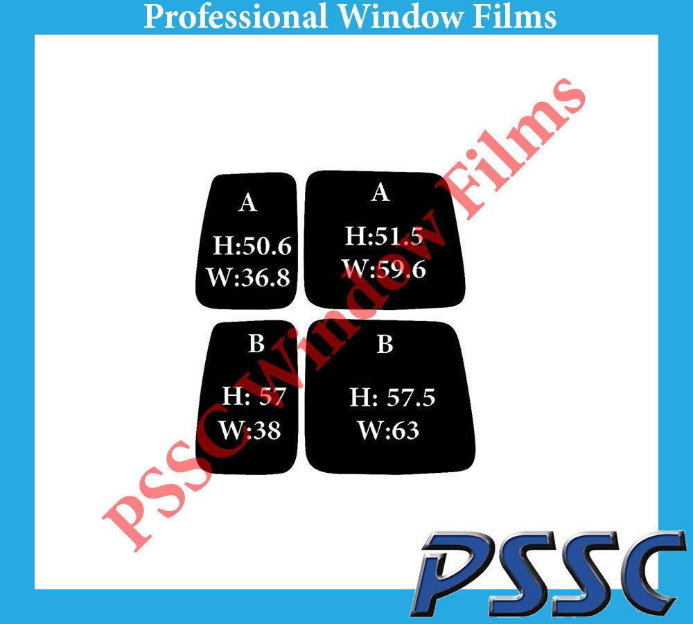 PSSC Pre Cut Rear Car Window Films - VW Caddy 1995 to 2004 321968500769_2415