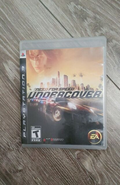 Need for Speed: Undercover (Sony PlayStation 3, PS3) LIKE NEW! FREE SHIPPING!