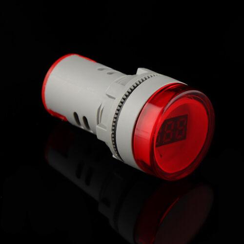 22MM rot AC60-500V LED Voltmeter Stromspannung Indicator Pilot Light AIP