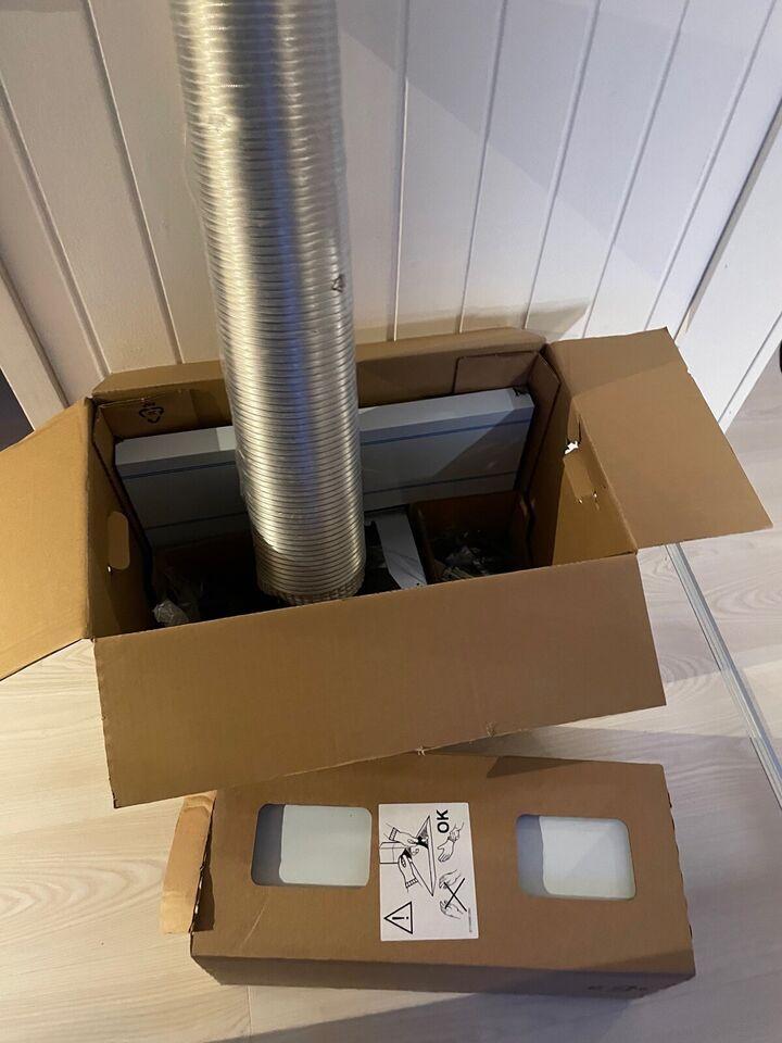 Emhætte, andet mærke IKEA MATÄLSKARE - helt ny!!