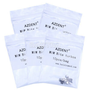 50pcs-Bite-Turbos-Dental-Orthodontic-Archwire-Brace-Buccal-Tube-Molar-Band