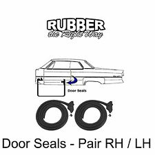 1966 1967 1968 Chrysler 300 Newport New Yorker Imperial Door Seals - pair