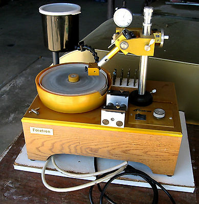 """rle  8"""" FACETING MACHINE, EXCELLENT USED CONDITION FACETRON FACET"""