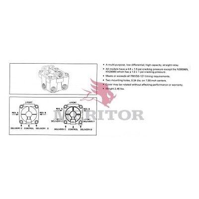 "D4FLR MERITOR BRAKE ASSEMBLY RD41018 258 A19-1406 3850860 16 ½"" X 7"" MRAP"
