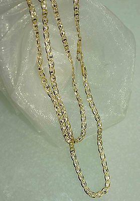 50 Cm Herrenkette Goldkette Halskette 750 Gold 18 Kt Kette Neu Super Design Seien Sie Freundlich Im Gebrauch