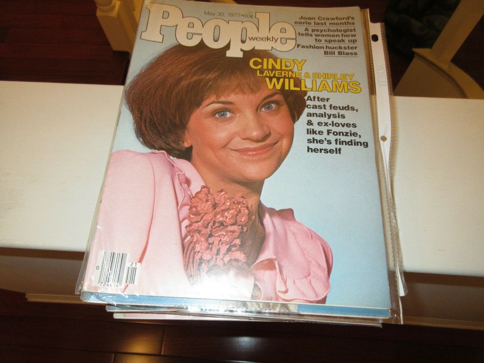Cindy Williams (Laverne & Shirley) , People Magazine ,