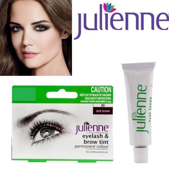 Julienne Eyelash And Eyebrow Permanent Dark Brown 03 Colour Tint