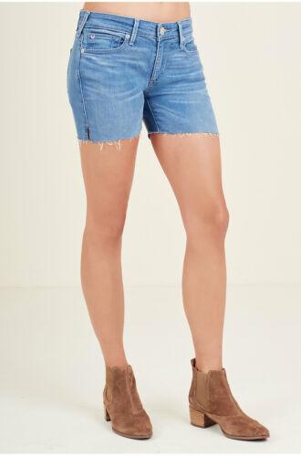 Becca True donna in Jean denim denim True vero laterale con Pantaloncini taglio in da ZvUqgTwT