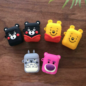 Cute Disney Winnie Pooh Bear Earphone Case Cover For Apple Airpods Charging Case Ebay