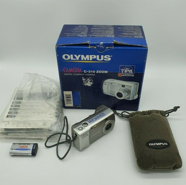 Olympus Camedia C-310 Zoom Digital Camera with box and instructions + case