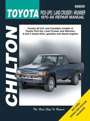 Repair Manual-SR5 Chilton 68600