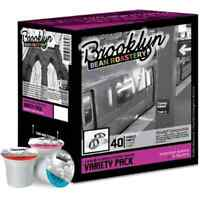 Brooklyn Beans Variety Pack Coffee Single-cup Coffee For Keurig K-cup Brewers Fo