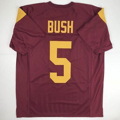 New REGGIE BUSH USC Red College Custom Stitched Football Jersey Size Men's XL | eBay