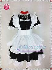 Inu x Boku SS Roromiya Karuta Maid Dress Cosplay Costume S-XL