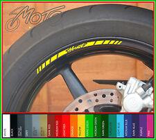 8 x HONDA HORNET Wheel Rim Stickers - cb 600 f cb 900 f cb600f cb900f motorcycle