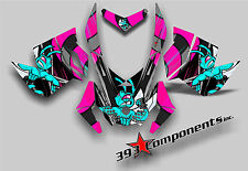 SKI DOO REV XP SNOWMOBILE SLED GRAPHICS DECAL Sticker Kit Killer Bee Girls Pink