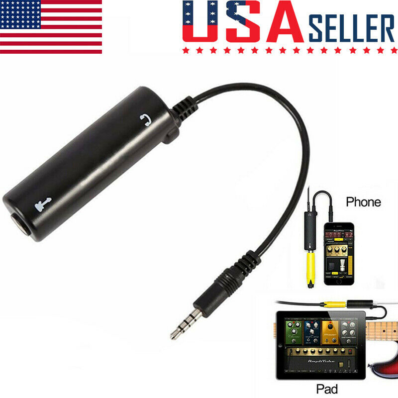 Guitar Effects Interface Adapter Converter Link for iPhone iPad iPod AC1865
