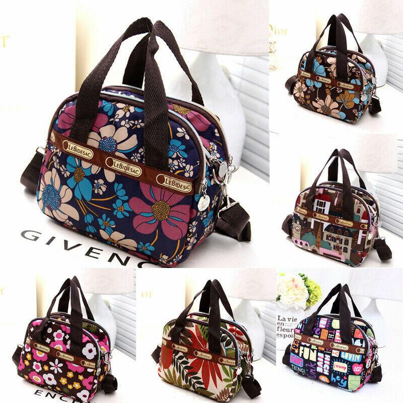 Women Canvas Handbag Shoulder Bags Travel Messenger Bag Satchel Tote P... - s l1600