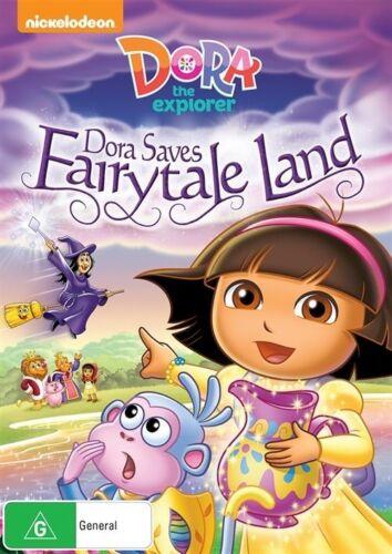 1 of 1 - Dora The Explorer - Dora Saves Fairytale Land (DVD, 2015)*R4*Terrific Condition