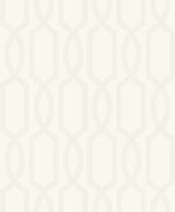 Tapete-Designtapete-Schimmer-Retroprint-Glasglitter-Perlmutt-Taupe-Silber