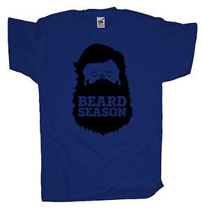 Ma2ca - Beard Season Hipster-  Herren T- Shirt   Bart Vollbart Hip Hop
