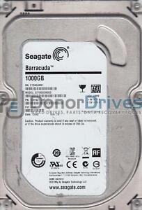 ST1000DM003 Z1D Seagate 1TB SATA 3.5 Hard Drive FW CC47 PN 1CH162-305 TK