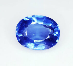 10.07 Ct Loose Gemstone Natural Blue Sapphire Ring Size Transparent Certified